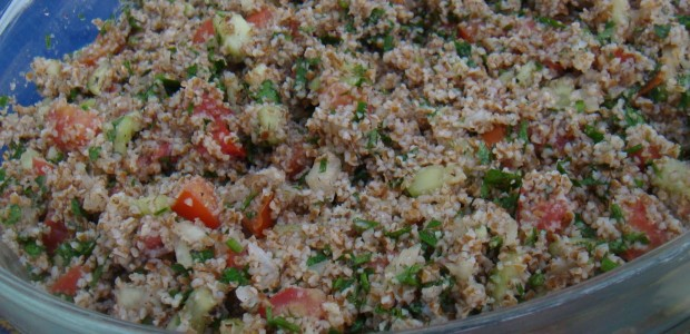 Receita Salada Tabule