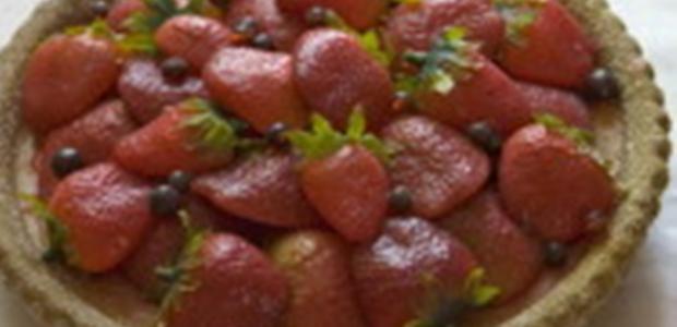 Receita Torta Mousse de Morango