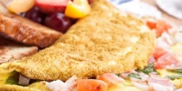 Receita Omelete de Microondas