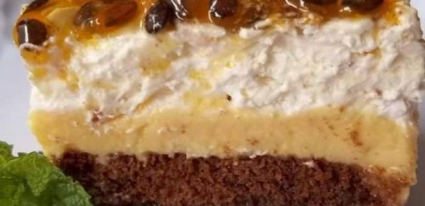 Receita Torta de Maracujá