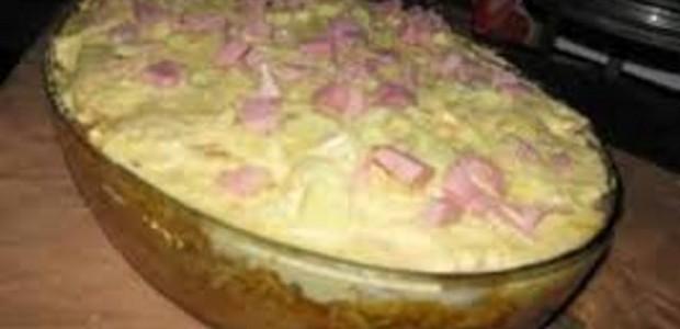 Receita Torta de Pão de Forma Com Requeijão