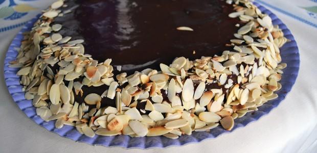 Receita Bolo de Chocolate e Amêndoas