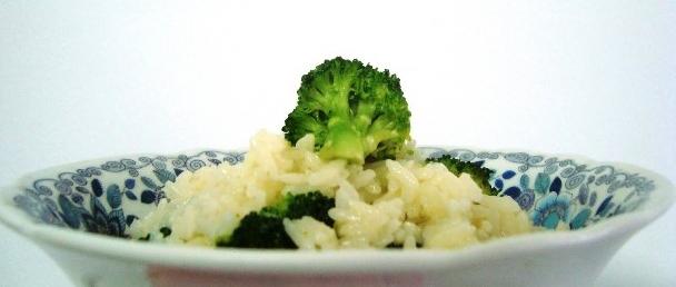 Receita Risoto de Brócolis