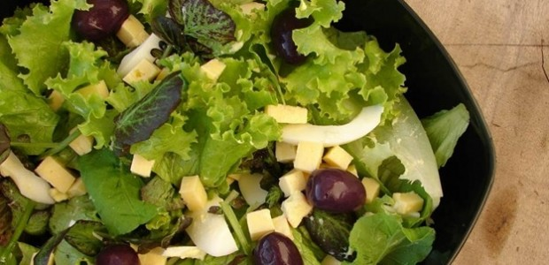 Receita Salada de Folhas