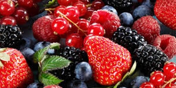 Receita Salada de Frutas Silvestres