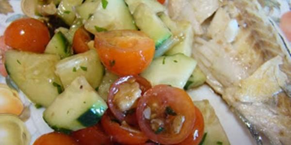 Salada de Pepino ao estilo sueco