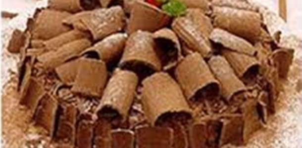 Receita Torta Gelada de Chocolate