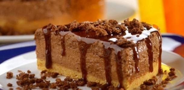 Receita Torta Mousse de Ovomaltine
