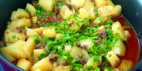 Ensopado de Batatas