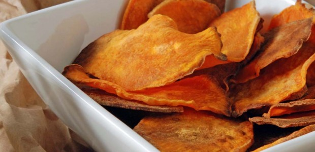 Receita Chips de Batata Doce