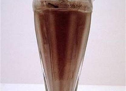 Receita Milk Shake de Chocolate