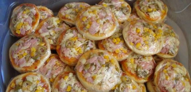 Receita Mini Pizza Fácil