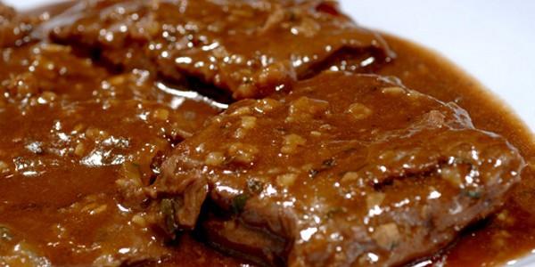 Carne ao Molho Madeira do Cheff