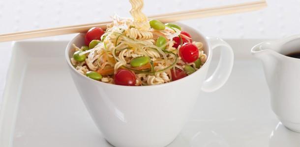 Receita Salada Oriental Crocante