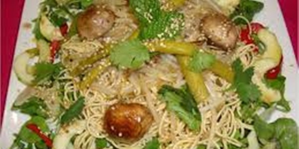 Receita Salada Tailandesa