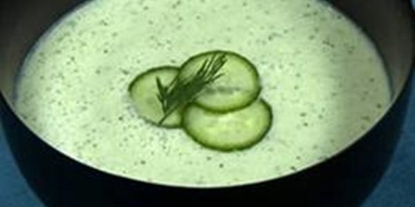 Receita Sopa de Pepino Fria