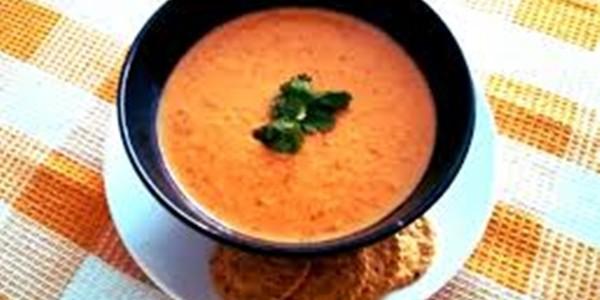 Receita Sopa Cremosa de Tomate