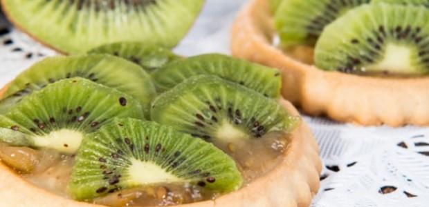 Receita Tortinha de Kiwi