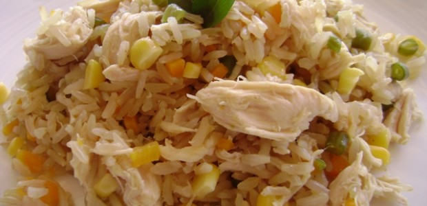 Arroz com Frango Integral