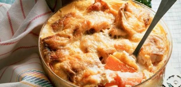Bacalhau Gratinado com Batatas