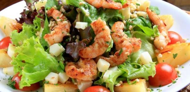 Salada Divina de Camarão