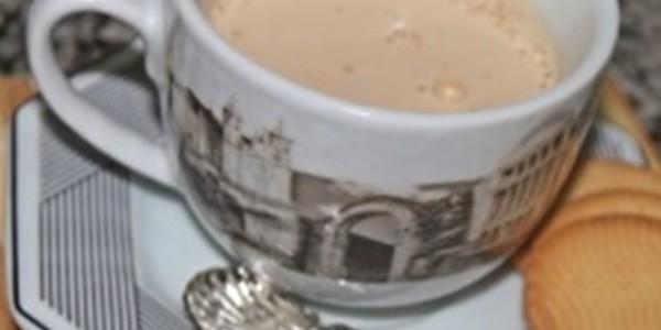Café com espuma