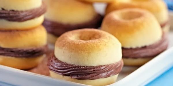 Mini Donuts Recheados