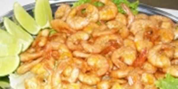 Receita Camarão Frito Especial