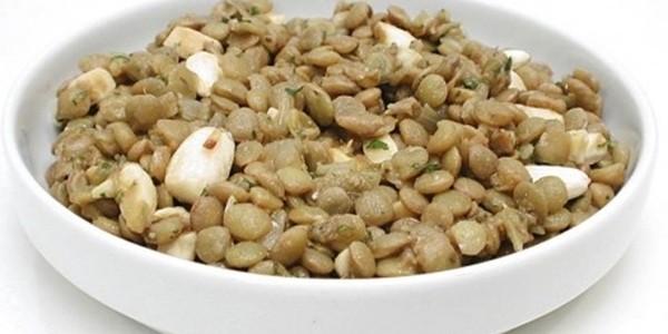Receita Salada de Lentilha