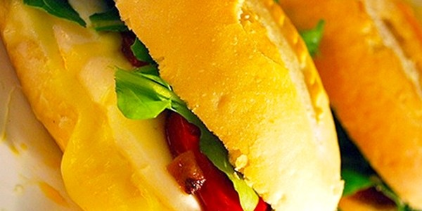 Receita Sanduíche Vegetariano