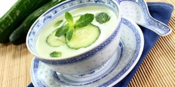 Sopa de Pepino Fria