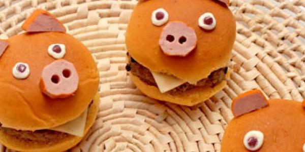 Hambúrguer Divertido
