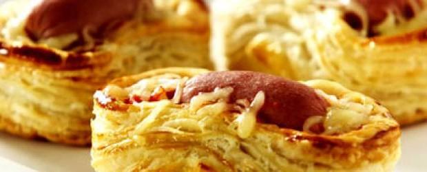 Hotdog com Massa Folhada