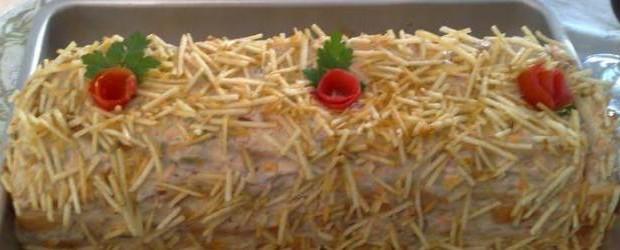 Receita Torta Fria de Atum
