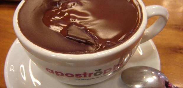 Chocolate Quente Cremoso para o Inverno