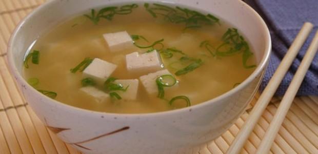 Sopa Missô Shiru com Tofu