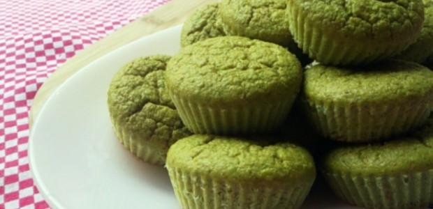 Muffins de Cenoura com Ervilha