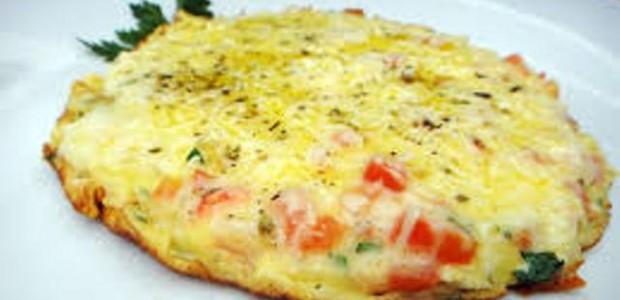 Omelete fácil e rápido