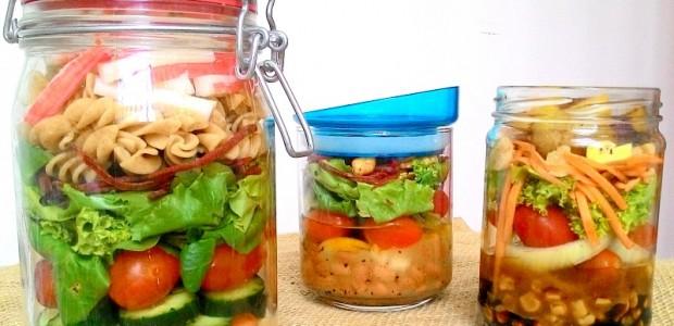 Aprenda a Fazer Salada no Pote
