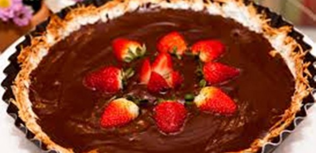Torta de Brigadeiro e Coco