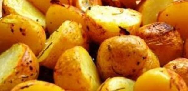Batatas Assadas no Micro