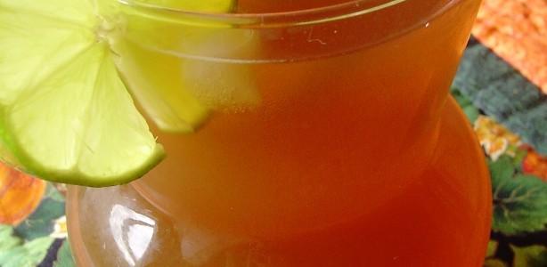 Chá com Limão Gelado