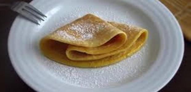 Crepe com Manteiga e Açúcar