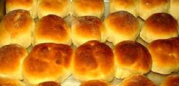 Pão caseiro quentinho e fofinho