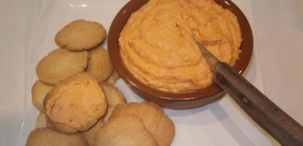 Patê de Camarão com Queijo