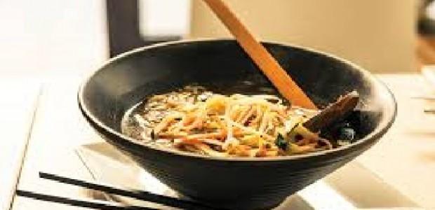 Sopa de Miojo com Carne Moída