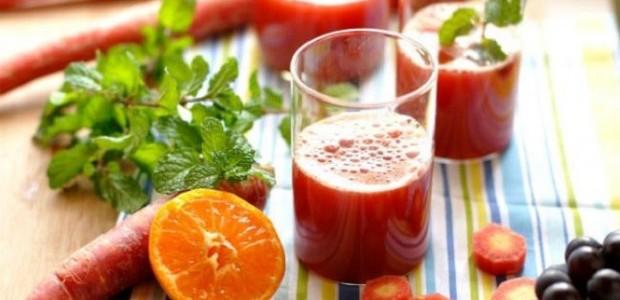 Suco de Limão, Cenoura e Beterraba