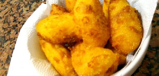Bolinhos de Fubá Fritos