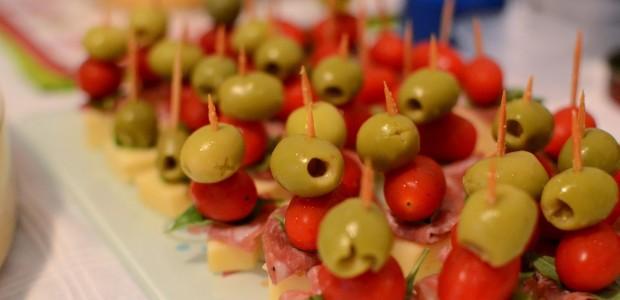 Espetinhos de Salame com Mussarela