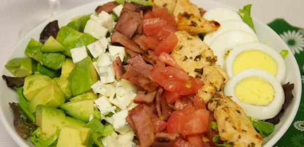 Cobb Salad Fácil
